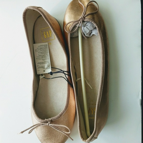 4e11de158 GAP Shoes | Ballet Flat Rose Gold Size 10 | Poshmark